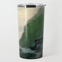 Mists In The Pitons: St. Lucia Travel Mug