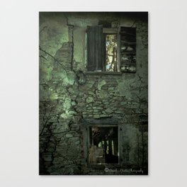 Ghost Town in Italy Canvas Print