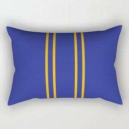 Chun Li Collant Stripes Rectangular Pillow