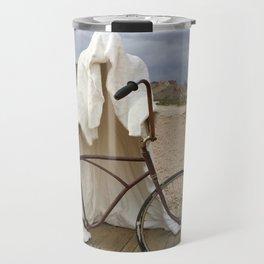 Ghost with bike Travel Mug