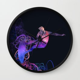 galaxy surfer 1 Wall Clock