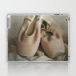 Creamy pointe ballet shoes Laptop & iPad Skin