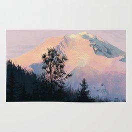 Mountain Sunrise 01 Rug