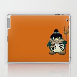 Harold The Penguin.Halloween character Laptop & iPad Skin