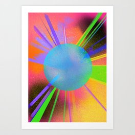 Color pop Art Print