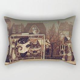 Foggy autumn Rectangular Pillow