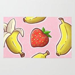 Strawberry and Banana Rug
