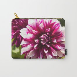 Purple Dahlia Passion Carry-All Pouch