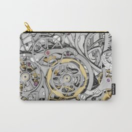 Watch Mechanism Carry-All Pouch