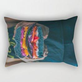 Black LT Sandwich Rectangular Pillow