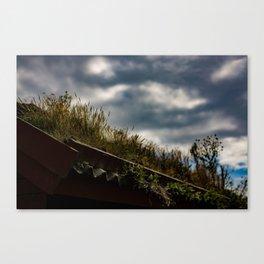 My Garden My Roof Canvas Print