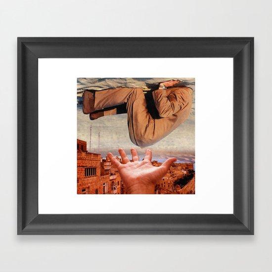 Feel free to fart... Framed Art Print