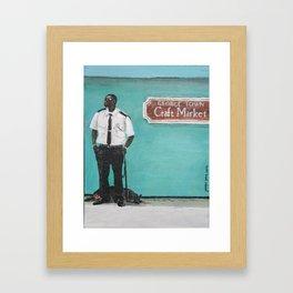 George Town Craft Market Framed Art Print