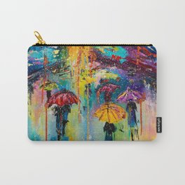 RAIN FALL DOWN Carry-All Pouch