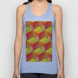 Geometrical pattern Unisex Tank Top