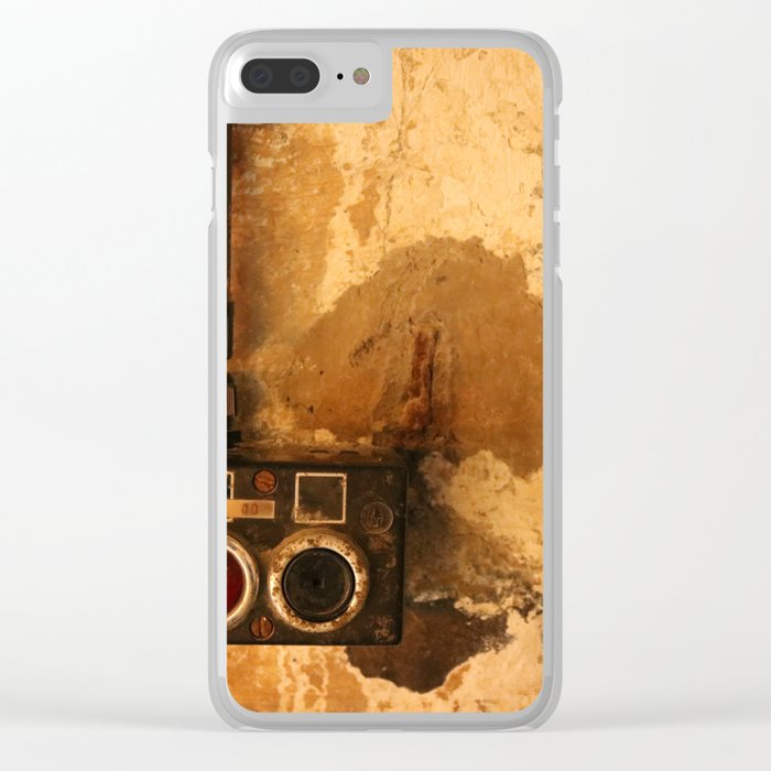 Heavy Industry - Switch Clear iPhone Case