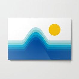 Ocean Horizon Metal Print