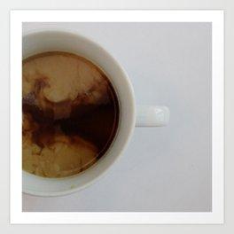 Clouds in my Coffee Art Print
