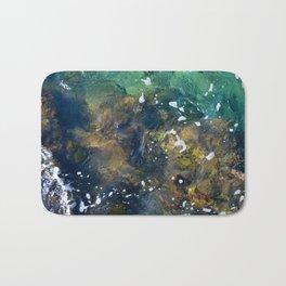 10,000 emerald pools Bath Mat