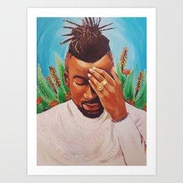 Introspective Art Print