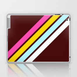 80's Style Retro Stripes Laptop & iPad Skin