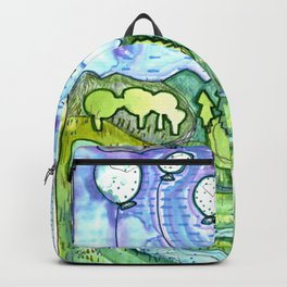 Full Moon Balloons Backpack