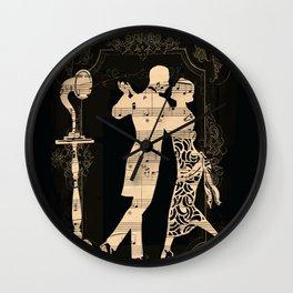 Romance D Automne Wall Clock