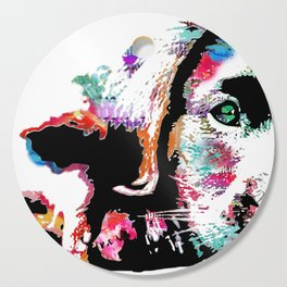 riley the lab pup Cutting Board
