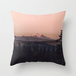 Mountain Morning IV Throw Pillow