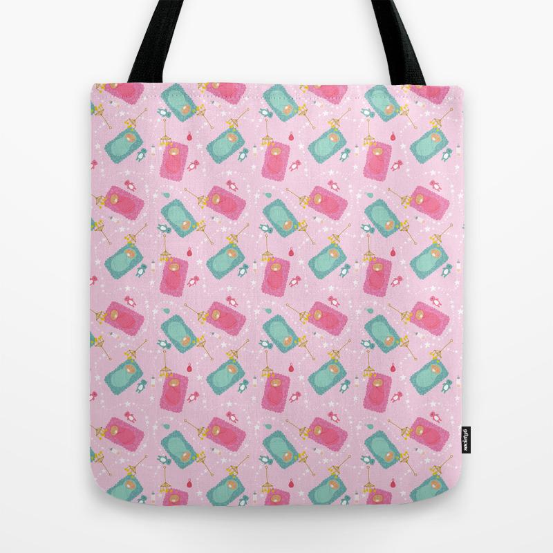 The Baby Blanket Tote Bag by Krusidullillustrations TBG8743706