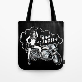 The Wild Angels Tote Bag
