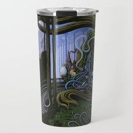Existing Only In The Light Travel Mug
