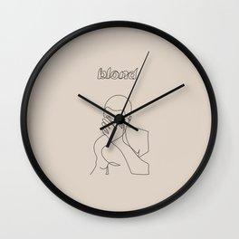Frank | Blond Wall Clock