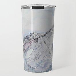 Spring  on Mount Sopris Travel Mug
