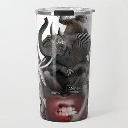 ANIMAL ITCH (Totem of the Elephant) Travel Mug