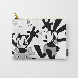 Oswald and Ortensia (B/W) Carry-All Pouch