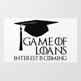 Game of Loans Rug