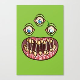 Bad Teef Canvas Print
