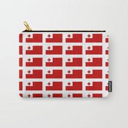 Flag of Tonga -Tonga,Tongatapu,Nukuʻalofa,Tongan,pa'anga,Vava'u, Ha'apai, Tongatapu. Carry-All Pouch