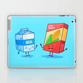 Milk and Corn (Best friends. Character set.) Laptop & iPad Skin
