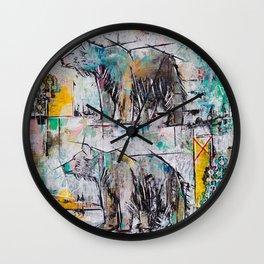 Bear in Area Wall Clock