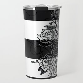 Inverted Roses Travel Mug