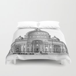 St. Peter Basilica - Rome, Italy Duvet Cover