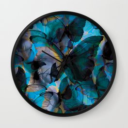 Morpho Wall Clock