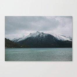Patagonia Mountain Canvas Print