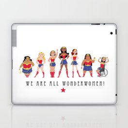 We Are All Wonderwomen! Laptop & iPad Skin