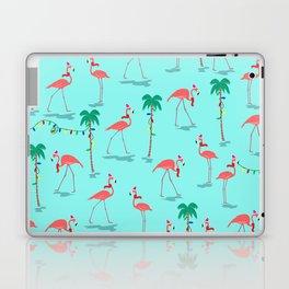 Christmas Flamingo Pattern Laptop & iPad Skin