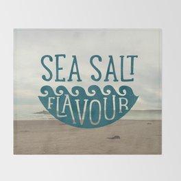 SEA SALT FLAVOUR Throw Blanket