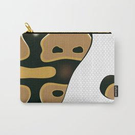 Piebald Ball Python Carry-All Pouch