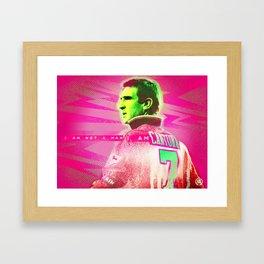 I am not a man Framed Art Print